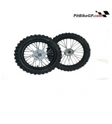 "RUEDA COMPLETA CROSS 10"" , 12"" y 14"""