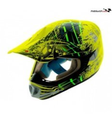 CASCO SHIRO MX-306 BRIGADE KIDS