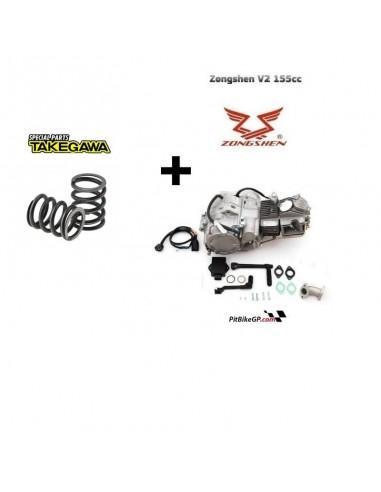 MOTOR Z155 CRF + MUELLES DUROS TAKEGAWA