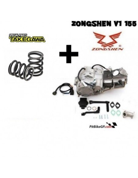 MOTOR Z155 KLX + MUELLES DUROS TAKEGAWA