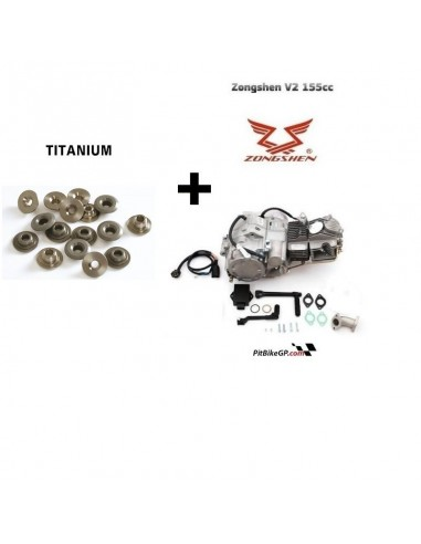 MOTOR Z155 CRF + COPELAS TITANIUM