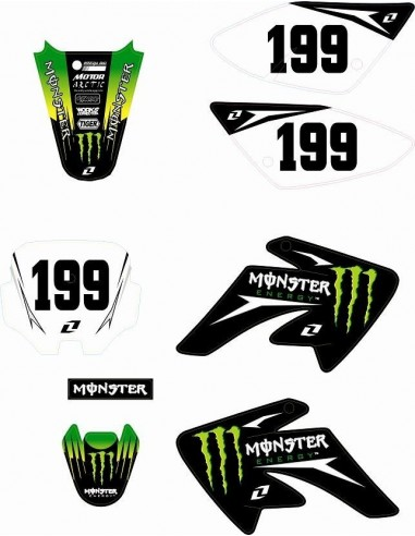 PEGATINAS MONSTER ENERGY CRF70